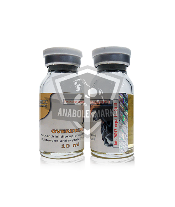 Overdrive Generic Supplements